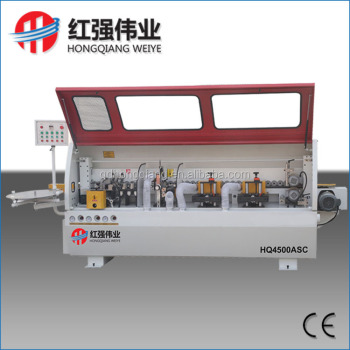 HQ4500C pvc edge banding machine semi automatic