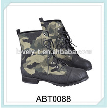 fashion army boots canvas ankle boots oliver boots