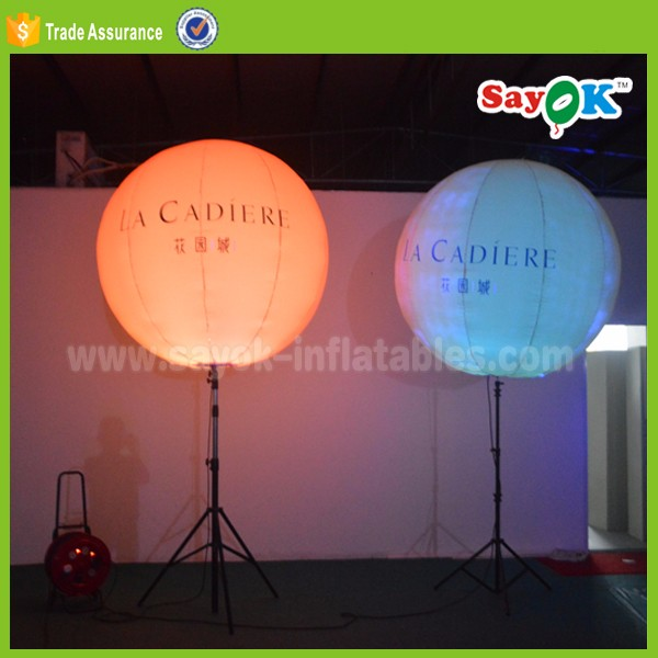 tripod ball nylon sayok new inflatable standing balloon display stand suits