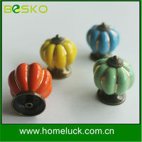 wholesale decorative red green ceramic drawer bed kids furniture knob