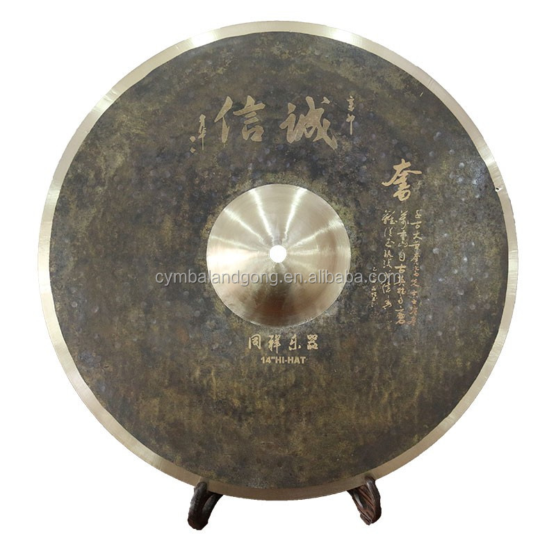 Tongxiang handmade signated Customized Cymbal 20ride