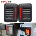 LOYO brand high quality led tail light for jeep wrangler tail stop rear light