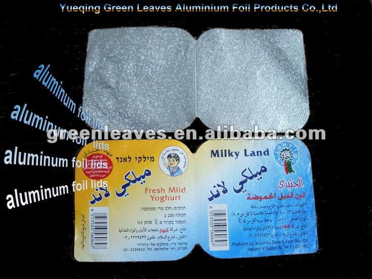 Heating Sealing Easy Peel Off Aluminium Foil Lid