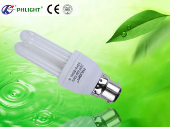 B22 base type 2U energy saver lamp