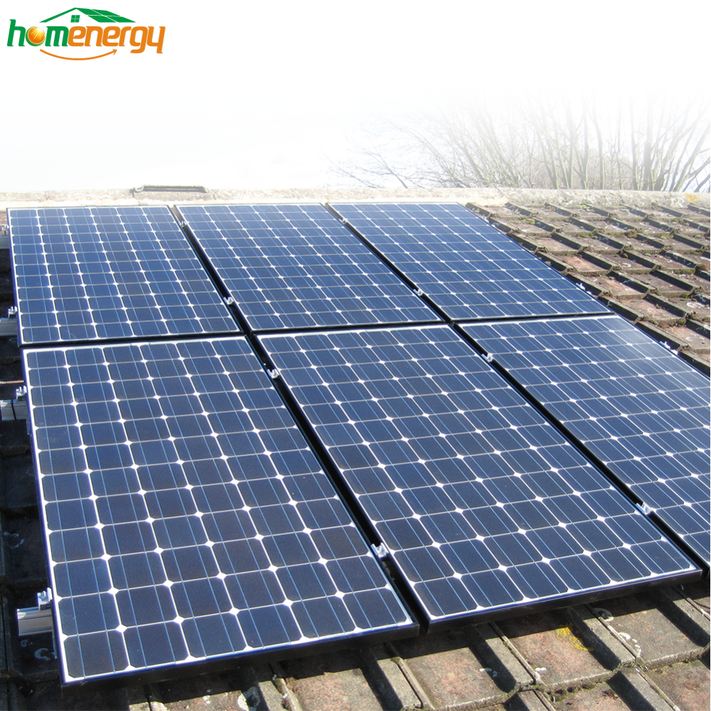 Warranty 25 year Best pv panel price 3kw solar system with complete mounting
