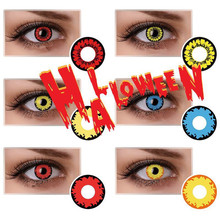 Wholesale different styles Crazy lens Halloween contacts Sharingan contact lenses