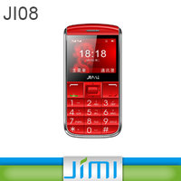 JIMI GPS Big Button Phone With SOS, Quad Band GSM, Bluetooth Multi-function Ji08