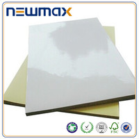 Transfer Mirror Coated PVC Vinyl Adhesive Cut Label Paper Sheet