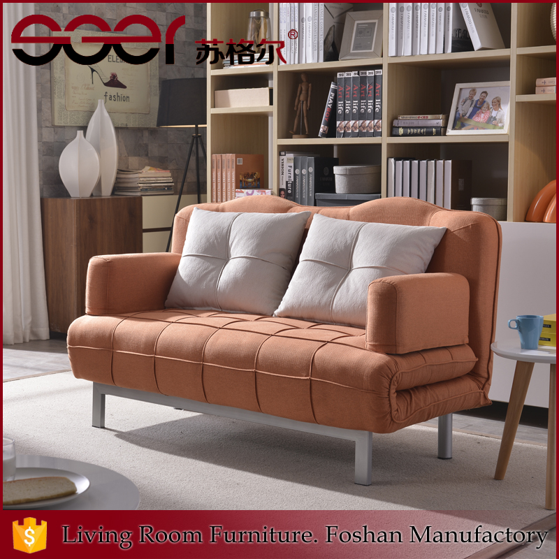 Hot product for promtion folding sofa fabric color combinations for sofa