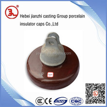 cap and pin disc suspension insulator