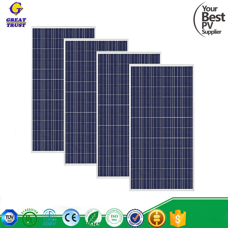 solar panel module 100w thin film solar panel polycarbonate solar panel for wholesales
