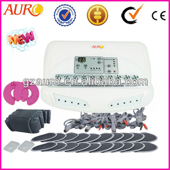 Au-6804 Portable electro muscle stimulation slimming products