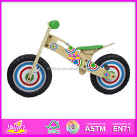 2016 new fashion children wooden mini bike W16C076-M22