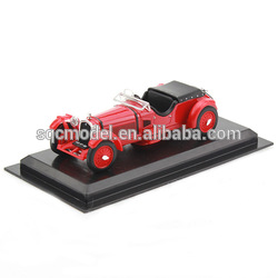 customized old scale resin model car with gift box