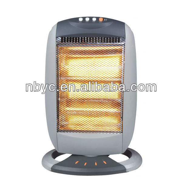 3tube Infrared Electric Halogen Radiant Heater 1200W