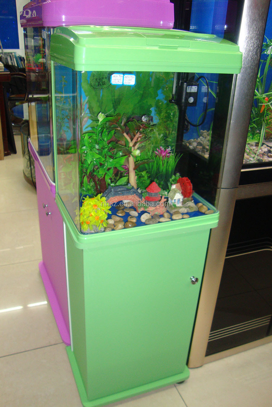 Touch led light fashion fish tank for sale buy fish tank for Buy fish tank