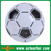 eco-friendly plastic pvc toy soccer ball inflatable for promotional