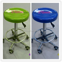 stainless steel metal lab stool