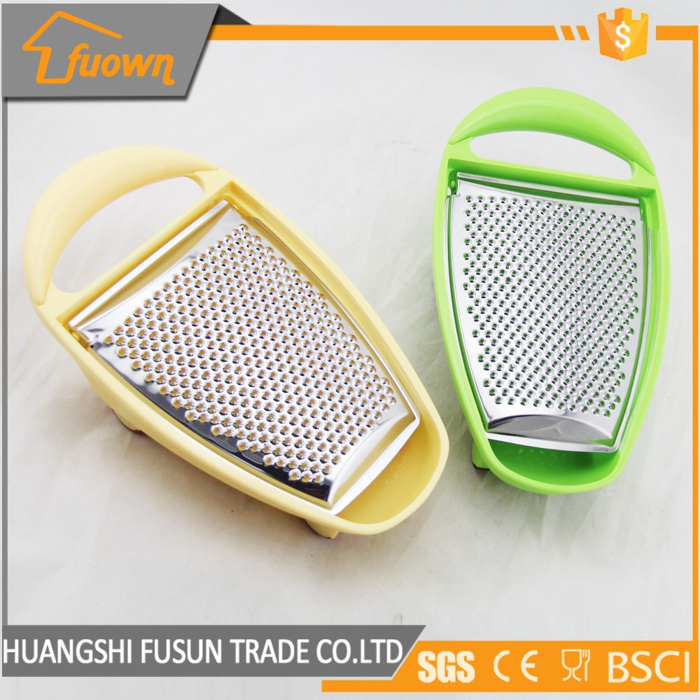 Stainless Steel Vegetable Grater /Slicer With Plastic Container Box