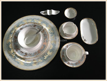 Grade A 12pcs China Bone restaurant dinnerware