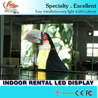 indoor led display big xxx video screen P3 Led Wall