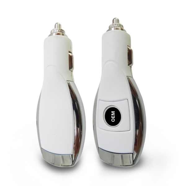 Low price !2014 Latest best quality 5v dual port car usb charger