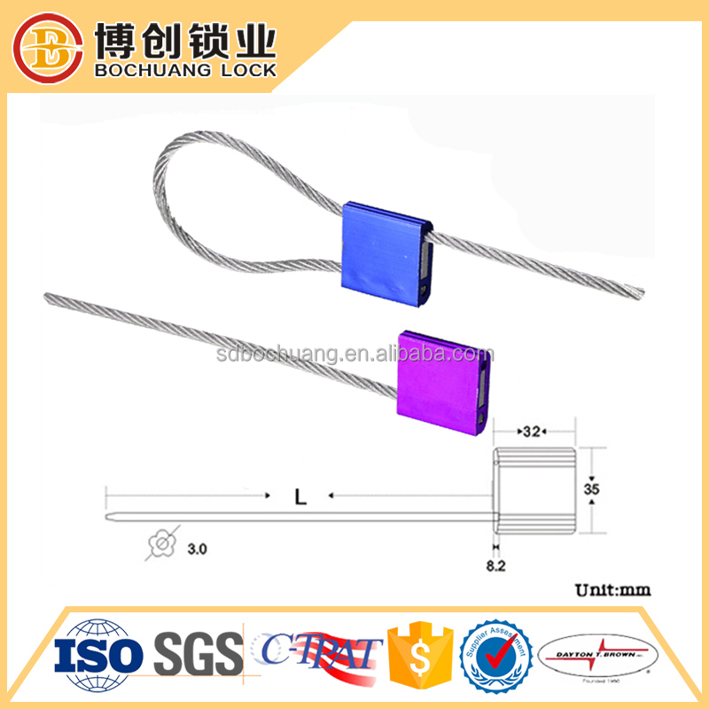 Container Metal Strip cable Seal
