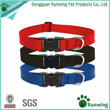 Adjustable Puppy Soft Nylon Buckle Pet Dog Cheap Collar for retailers