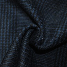 Dobby Wool Poly Fabric Weave Fabrics For Business Man Suiting