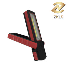 Ultra Bright COB Flexible Inspection LED Lamp Hand Torch Work light With Support Stand