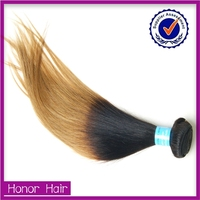 Professional manufacture 8a grade double drawn wholesale virgin ombre brazilian hair color dye