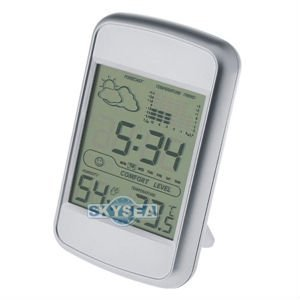 Multi function digital weather station clock