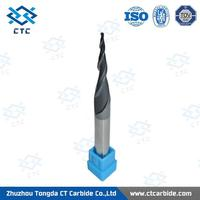 Brand new tungsten solid carbide dovetail end mill cutter in milling cutte