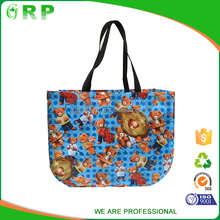 ISO/BSCI Good textured bag low-carbon pp non woven durable shopping bag
