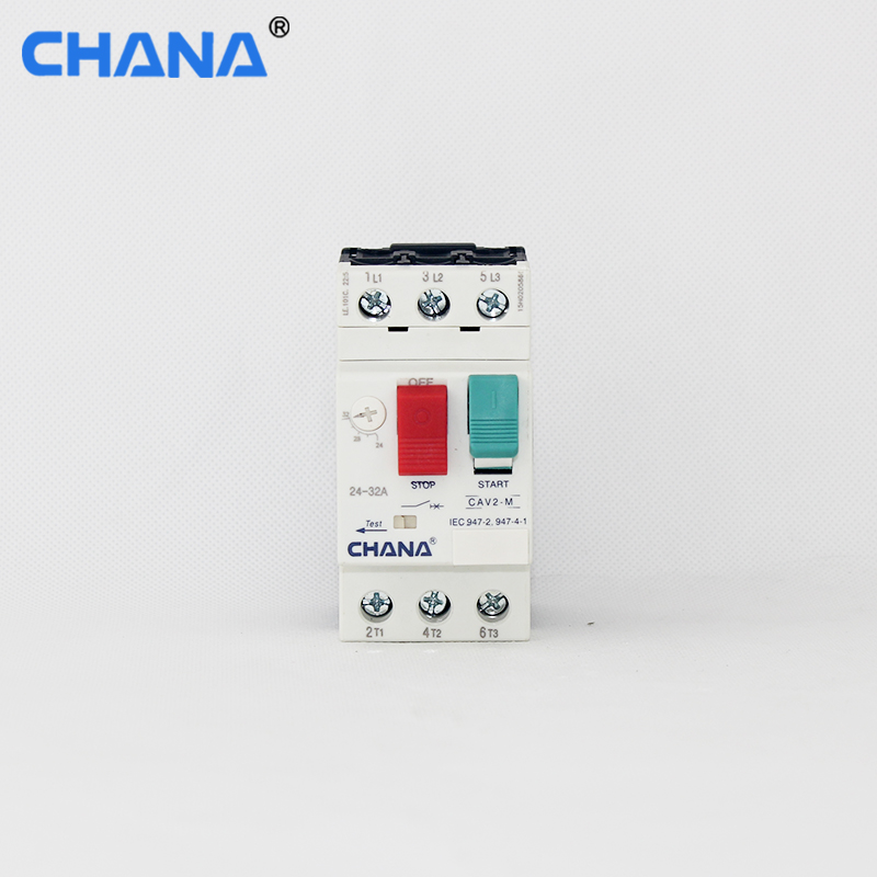 GV2 series three phase AC type 0.1a to 32a Motor Protection Circuit Breaker MPCB with CE certification