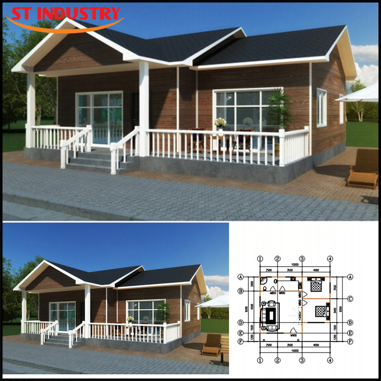 Best quality modern Sandwich Panel material low cost prefab house