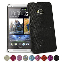 Stylish Sparkle Glitter Hard Case for HTC ONE M7