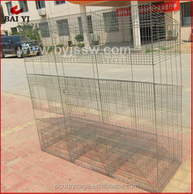 Cheap Industrial 3 Level Rabbit Cages With Tray For Rabbit(H type ,alibaba supplier,Made in China)