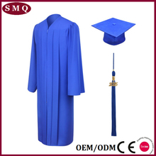 Wholesale academic cap and gown bachelor hood graduation gown