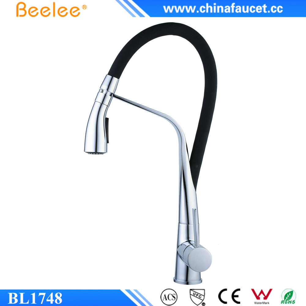 Beelee BL1748 New Kitchen Mixer Sink Tap Pull out Kitchen Faucet