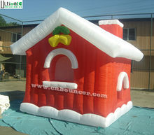 Popular inflatable christmas snow house factory