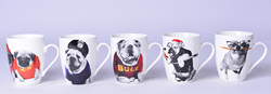 Bulldog Ceramic Coffee Mug