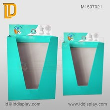 POS Custom Small Appliance Wire dump bin Floor Displays Stand