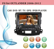 world tech car dvd fit for Ford Mitsubishi outlander 2006 - 2012 with radio bluetooth gps tv