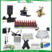 2014 getbetterlife wholesale Professional Top quality beginner Tattoo kit