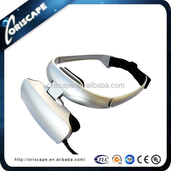 Head-mounted Game/Movie Virtual Reality 3D Glasses