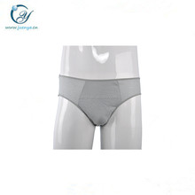ISO 13485 manufacturer light gray 100 cotton disposable sexy men underwear panties for traveling