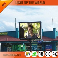 p6 Hot selling outdoor LED Screen for parking lot LED display traffic LED scroll sign