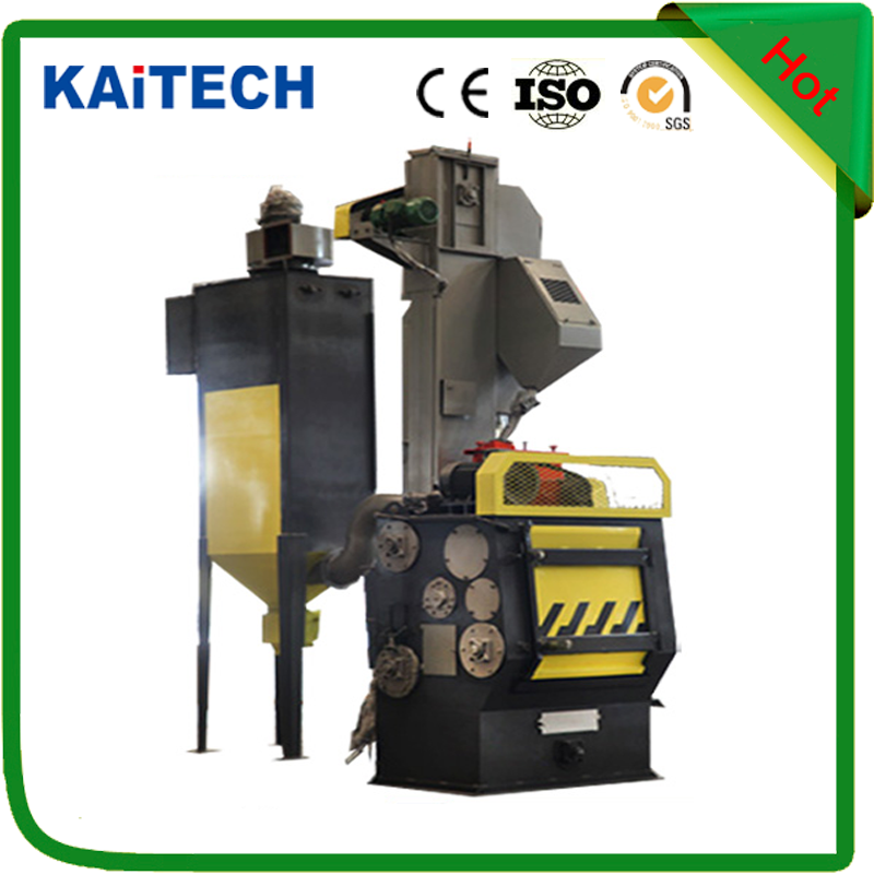 Q3210 rubber belt type shot blasting machine