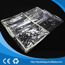 Plastic clear PVC bedding plastic air bags for packaging for cheap sale